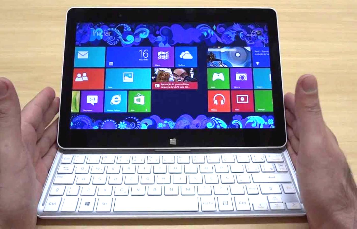 Notebook ou tablet?