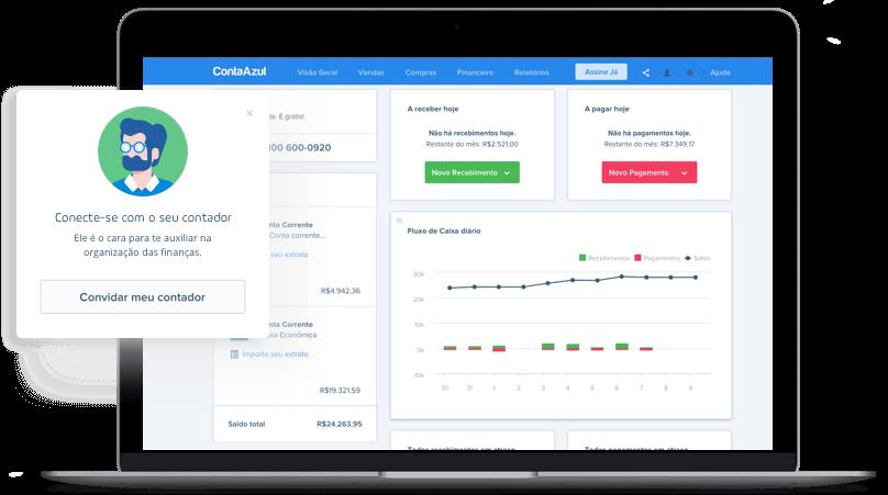 Software para assistência técnica: ContaAzul