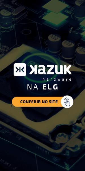 Banner para página com produtos Kazuk no site da ELG.