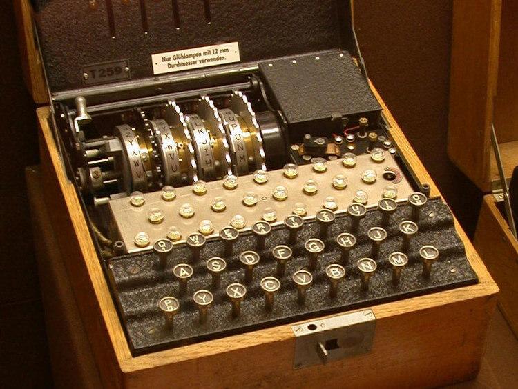 Máquina Enigma, modelo T.