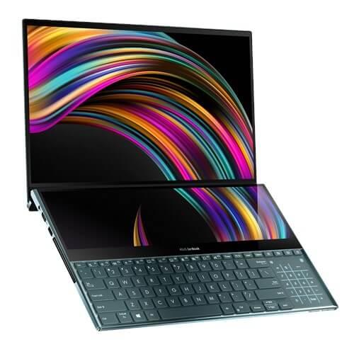 Imagem do Zenbook Pro Duo.