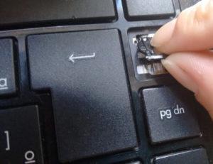 Encaixe no teclado