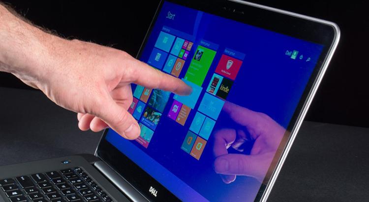 problemas em telas touchscreen