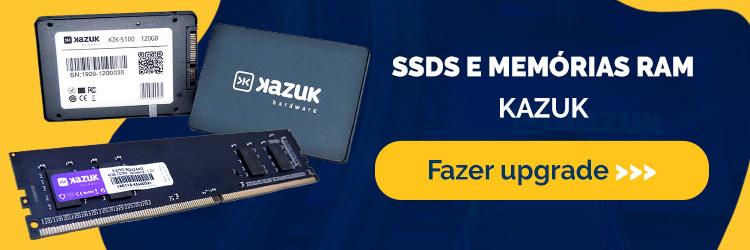 Banner para a página de produtos Kazuk na loja virtual da ELGScreen.